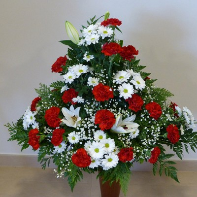 Centro de flor variada 2