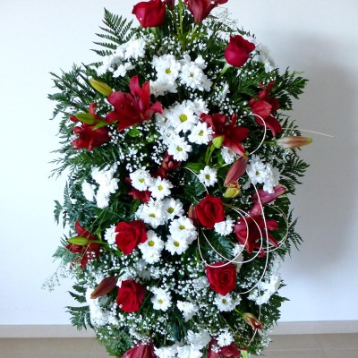 Centro de colgar de flor variada 2